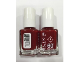 ELIXIR London Nail Polish Fast dry Βερνίκι νυχιών σκούρο κόκκινο Ν229 13ml