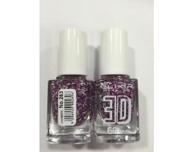ELIXIR London Nail Polish Fast dry Βερνίκι νυχιών, με τρισδιάστατα glitter,  3D 60΄ Ν 263  13ml