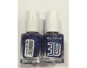 ELIXIR London Nail Polish Fast dry Βερνίκι νυχιών 3D Μώβ-Μπλέ  Ν264 13ml