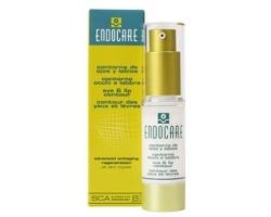 ENDOCARE Eye & Lip Contour SCA Biorepair Index 8 Ρευστή κρέμα επανόρθωσης για την περιοχή γύρω από τα μάτια και τα χείλη 15ml