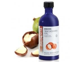 MACROVITA Macadamia Oil, Έλαιο Μακαντάμια Ψυχρής Πίεσης 100ml