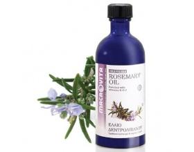 MACROVITA Rosemary Oil, Έλαιο Δεντρολίβανου Ψυχρής Πίεσης 100ml