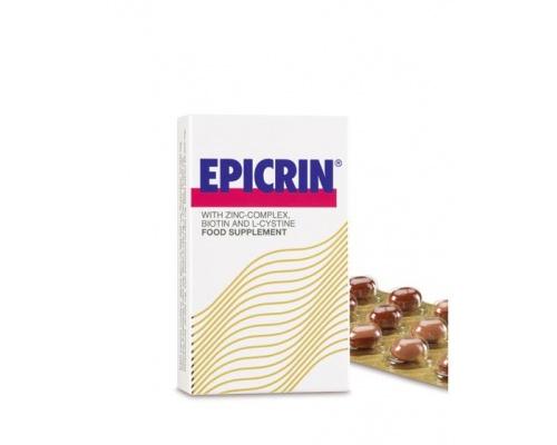 EPICRIN Capsules - Συμπλήρωμα διατροφής, για την προστασία και την αναζωογόνηση των μαλλιών 30 κάψουλες