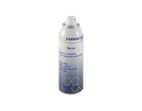 Farmac-Zabban Farmactive Silver Σπρέϊ με κολλοειδή άργυρο & Νατριούχο άλας του Υαλουρονικού οξέως 125 ml