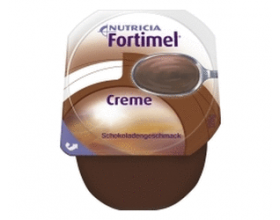 Nutricia Fortimel Creme nourishing cream formulations for patients with increased energy and protein needs with chocolate 125g