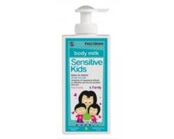 Frezyderm Sensitive Kids Face & Body Milk 200ml, Απαλό Γαλάκτωμα για την φυσιολογική, την ευαίσθητη ή την ερεθισμένη παιδική επιδερμίδα