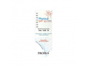 Froika Physical Cream Spf50 Tinted Αντηλιακό με χρώμα, 50ml