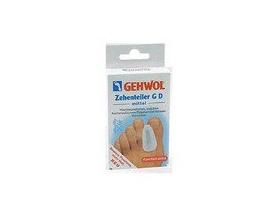 Gehwol Toe Divider GD Medium Διαχωριστής δακτύλων ποδιού  Μεσαίου μεγέθους,3τεμ, προστατευτικό επικάλυμμα πολυμερούς γέλης τύπου G, Επιβραδύνει & μειώνει τα κότσια των μεγάλων δακτύλων του ποδιού διορθώνοντας τη θέση τους