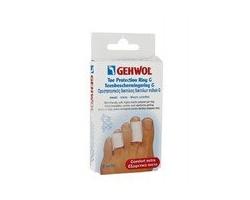 Gehwol Toe Protection Ring G Small Προστατευτικός δακτύλιος δακτύλων ποδιού τύπου G Μικρού μεγέθους (25mm), προστατευτικό επικάλυμμα πολυμερούς γέλης,Ανακουφίζει τον πόνο στα δάκτυλα από κάλους & μυρμηγκιές,2τεμ