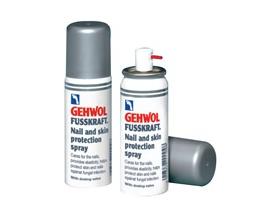 Gehwol FUSSKRAFT Nail & Skin Protection Spray Αντιμυκητιασικό spray με προστατευτική δράση για νύχια και δέρμα 50ml