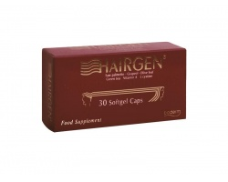 BODERM Hairgen softgel caps με L-Cystine Συμπλήρωμα διατροφής κατά της τριχόπτωσης 30 μαλακές κάψουλες