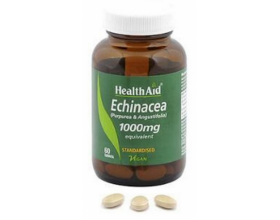 Health Aid Echinacea 1000mg 60 ταμπλέτες, Συμπλήρωμα Διατροφής για ενίσχυση της φυσικής άμυνας του οργανισμού