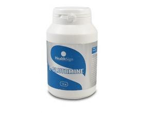 Health Sign L-Glutamine 125gr, Συμπλήρωμα Διατροφής που ενισχύει την λειτουργία του εντερικού βλεννογόνου, του ανοσοποιητικού συστήματος και της πρωτεϊνοσύνθεσης