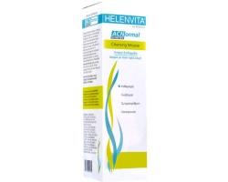 Helenvita ACNormal Cleansing Mousse, 150 ml, Βελούδινος αφρός για τον καθημερινό καθαρισμό της λιπαρής, με τάση προς ακμή επιδερμίδας