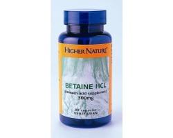 Higher Nature GOLDEN BETAINE HCL 90VEG .CAPS