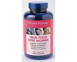 Higher Nature GOLDEN TRUE FOOD WISE WOMAN 180CAPS