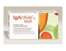 Igactive Flu Multi Novapharm, Πολυβιταμινούχο συμπλήρωμα διατροφής 30 κάψουλες