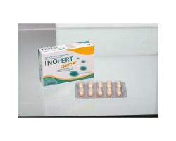 Inofert Combi  Συμπλήρωμα διατροφής που περιέχει μυοινοσιτόλη d-Chro-Ινοσιτόλη και φολικό οξύ, 20caps