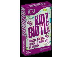 Quest  KidzBiotix Συμπλήρωμα διατροφής με  συνδυασμό φιλικών βακτηρίων ειδικά σχεδιασμένος για παιδιά 30 μασώμενες  ταμπλέτες