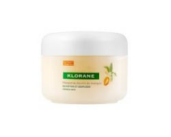 Klorane Masque au beurre de mangue Επανορθωτική Μάσκα εντατικής τροφής με βούτυρο μάνγκο για ξηρά μαλλιά 150ml
