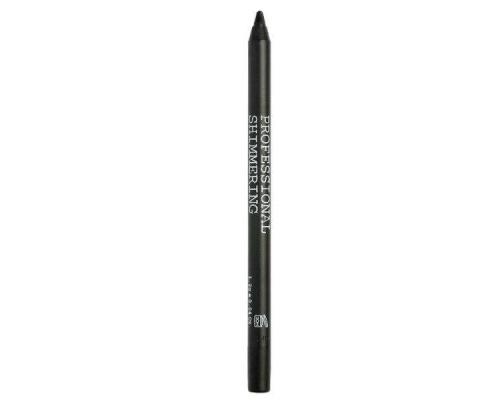 Korres Black Volcanic Minerals Shimmering Eyeliner, Μολύβι για το περίγραμμα των ματιών με μαύρη ιριδίζουσα απόχρωση με εξαιρετικά μεγάλη διάρκεια