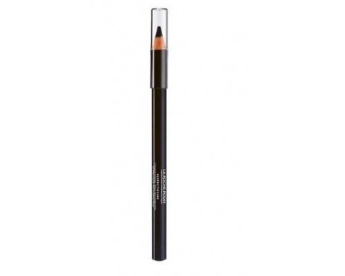 La Roche Posay RESPECTISSIME SOFT EYE PENCIL, Εξαιρετικά μαλακό μολύβι ματιών που δημιουργεί απαλές, έντονες & εύπλαστες γραμμές στα βλέφαρα, Τονίζει & φωτίζει τα μάτια,Σε απόχρωση Noir / Black (Μαύρο), 1.0gr
