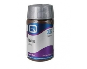 QUEST LACTASE 200mg lactose digesting enzyme Συμπλήρωμα διατροφής απευθύνεται στα άτομα εκείνα που εμφανίζουν δυσανεξία στη λακτόζη 30 ταμπλέτες
