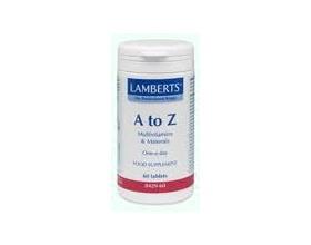 LAMBERTS A to Z MULTI VITAMINS Συμπλήρωμα διατροφής 30 κάψουλες