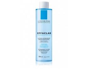 La Roche Posay Effaclar Lotion Astringente, Στυπτική Λοσιόν καθαρισμού με μικροαπολεπιστική δράση,βοηθά στην αποσυμφόρηση των φραγμένων πόρων και στη μείωση του μεγέθους τους 200 ml