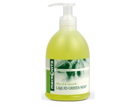 Macrovita Υγρό Πράσινο Σαπούνι με ελαιόλαδο και χαμομήλι, 300ml