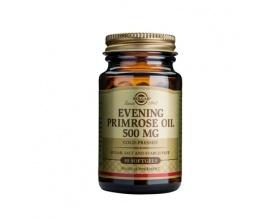 Solgar Evening Primrose Oil 500mg Συμπλήρωμα διατροφής με έλαιο νυχτολούλουδου συμβάλει στην μείωση της χοληστερόλης και της πίεσης του αίματος, ενώ βοηθάει στην μείωση του στρες 30 softgels