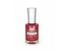 Maxiflex Collextion 2000 Nail Colour 284 Blazing Red Βερνίκι νυχιών Κόκκινο με στράς 12ml
