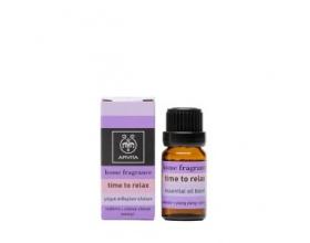 Apivita Essential Oils Time to Relax Μίγμα αιθερίων ελαίων με λεβάντα & υλάνγκ-υλάνγκ 10 ml