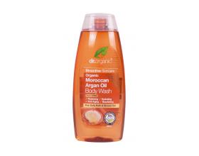 Dr.organic Body Wash Argan Oil 250 ml, Ενυδατικό Αφρόλουτρο με Βιολογικό Έλαιο Αργκάν, με επανορθωτικές, αντιγηραντικές & θρεπτικές ιδιότητες