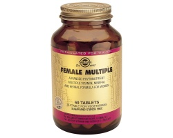 Solgar Female Multiple Πολυφόρμουλα με διατροφικά στοιχεία για γυναίκες 60 ταμπλέτες