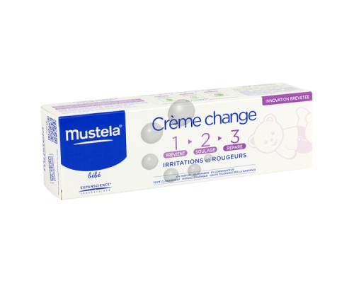 Mustela Creme pour le change 1-2-3 Καθημερινή κρέμα πρόληψης μετά από κάθε αλλαγή πάνας 100ml