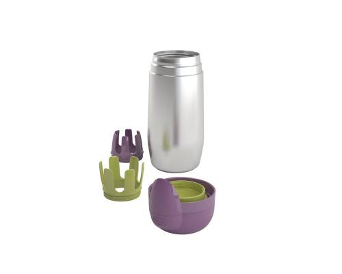 Chicco New Θερμός Inox 60180-00 Ειδικά σχεδιασμένος για την εφαρμογή όλων των μπιμπερό Chicco 0m+