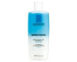 LA ROCHE-POSAY Respectissime eye make-up remover Λασιόν καθαρισμού για αφαίρεση αδιάβροχου μακιγιάζ ματιών 125 ml