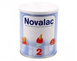 NOVALAC 2 Βρεφικό γάλα σε σκόνη 2ης βρεφικής ηλικίας 6-10 μήνες 400 gr