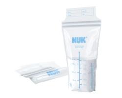 NUK BREAST MILK BAGS, Bags Storage breastmilk, 25tmch