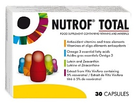 Thea Nutrof Total Συμπλήρωμα διατροφής για την κανονική λειτουργία της όρασης 30 καψάκια