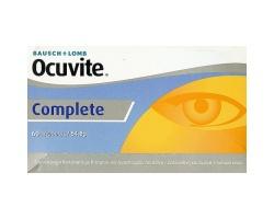 BAUSCH & LOMB Ocuvite Complete 60caps, Συμπλήρωμα Διατροφής για την καλή υγεία και την προστασία των ματιών