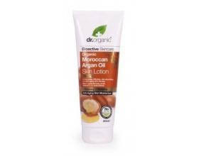 Dr.Organic Organic Moroccan Argan Oil Skin Lotion, Ενυδατικό Γαλάκτωμα Σώματος με Βιολογικό Έλαιο Αργκάν αποτελεί ένα αντιγηραντικό γαλάκτωμα που ενυδατώνει άμεσα και θρέφει την επιφάνεια της επιδερμίδας 200ml