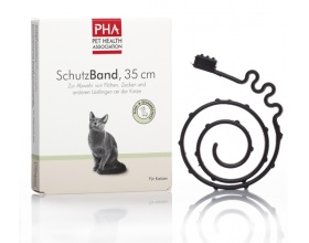 Pet Health Association PHA αντιπαρασιτικο κολαρο για γατες, 35cm