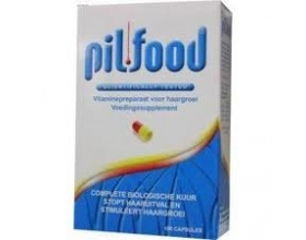PILFOOD Συμπλήρωμα διατροφής με συνδιασμό συστατικών για μαλλιά &  νύχια 100 κάψουλες