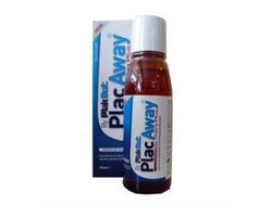 PLAC AWAY Daily care Στοματικό διάλυμα κατά της οδοντικής πλάκας-ουλίτιδας-τερηδόνας 500ml