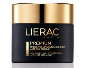 LIERAC Premium Creme Voluptueuse 50ml, 24ωρη Kρέμα εξαιρετικής άνεσης και απόλυτης αντιγήρανσης