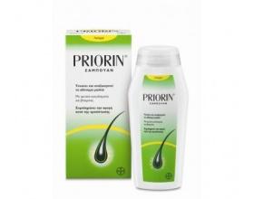 BAYER Priorin shampoo Σαμπουάν για την τριχόπτωση λιπαρά μαλλιά 200ml