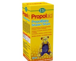 Esi Propolaid Σιρόπι πρόπολης με Echinacea, μέλι και βιταμίνη C κατάλληλο για παιδιά άνω των 3 ετών με γεύση φράουλα 180 ml