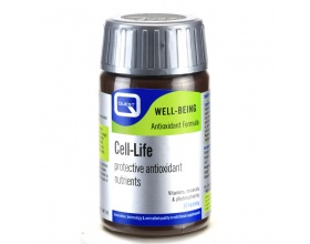 QUEST CELL LIFE protective antioxidant nutrients Συμπλήρωμα διατροφής με μοναδικό συνδυασμό αντιοξειδωτικών συστατικών 30 ταμπλέτες